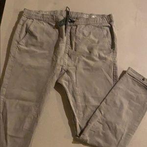 Mens skinny lg bullhead denim pants